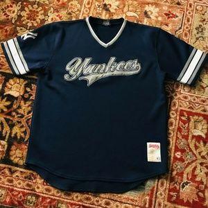 New York NY Yankees Authentic Vintage Stitches